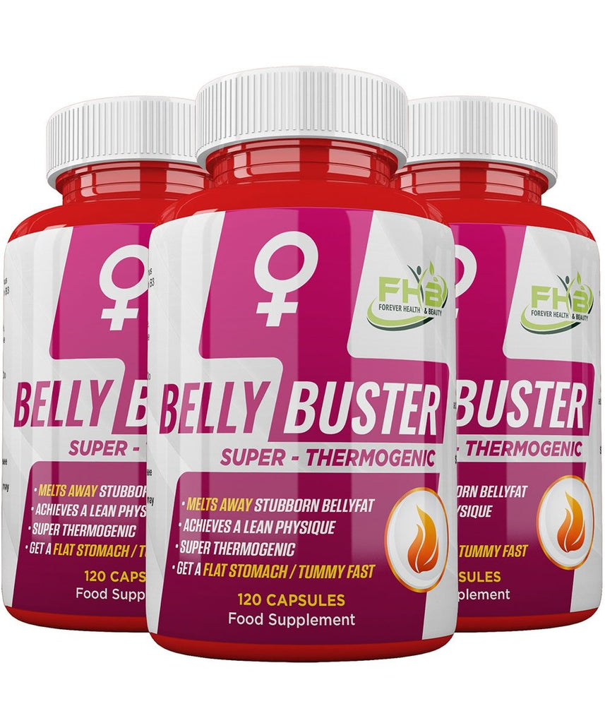 Belly Buster For Women - Super Thermogenic - Melts Away Stubborn Bellyfat - 360 Capsules