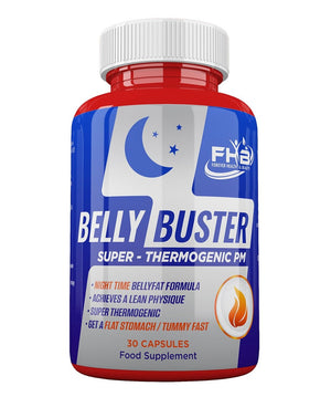 Belly Buster Night -Lose Belly Fat Fast  - Melts Away Stubborn Belly Fat