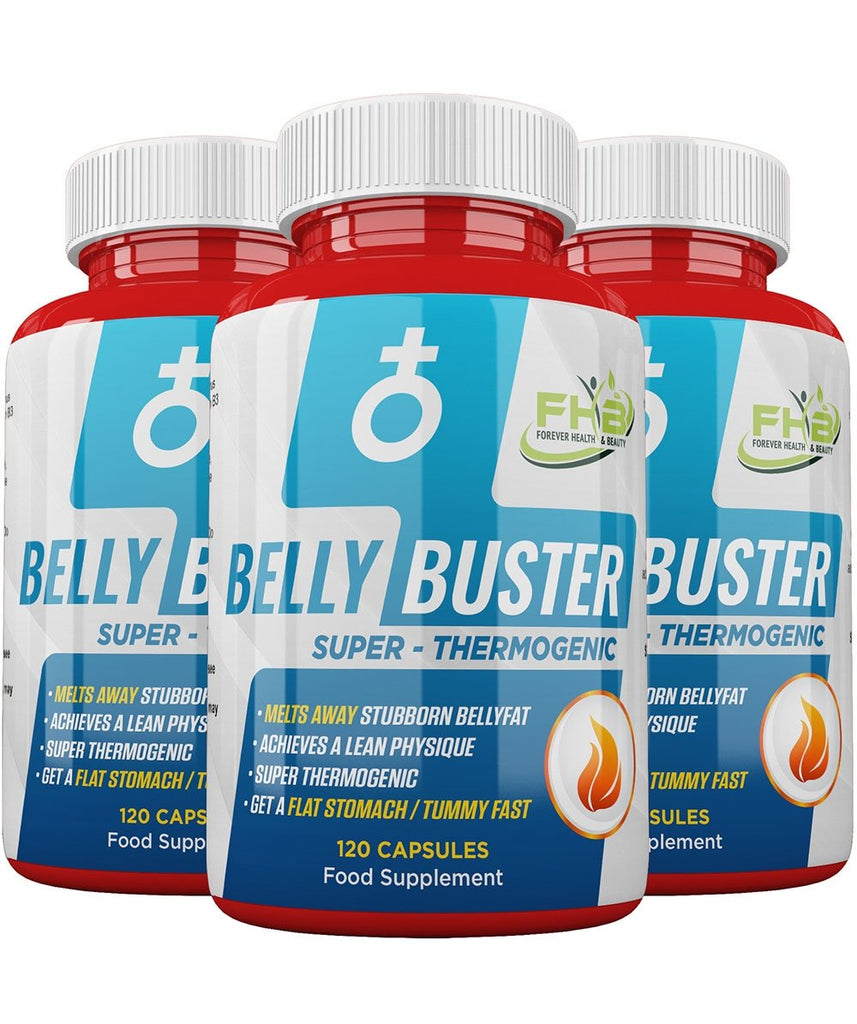 Belly Buster - Super Thermogenic - Melts Away Stubborn Bellyfat - 360 Capsules