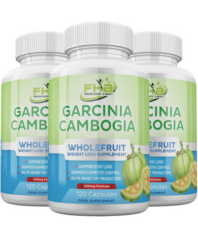 Garcinia Cambogia wholefruit lose weight fast with these high strength diet pills - 360 capsules