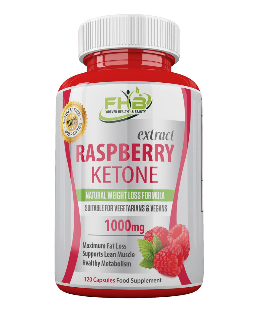 Raspberry Ketone Super Strong Fat Burner - Lose Weight Fast - 120 Capsules