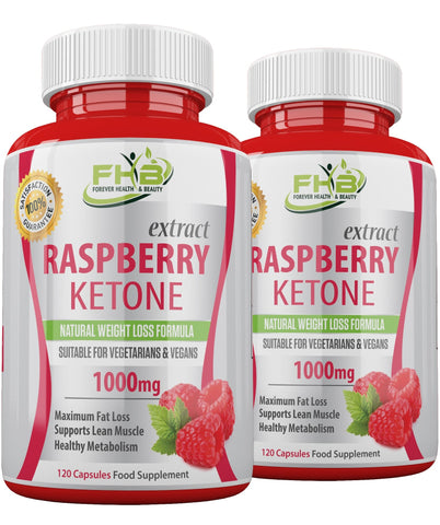 Raspberry Ketone Super Strong Fat Burner - Lose Weight Fast - 240 Capsules