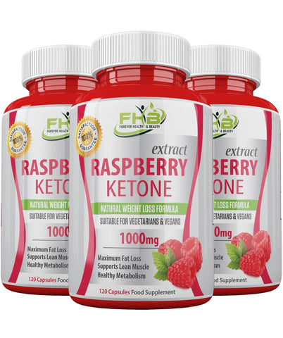Raspberry Ketone Super Strong Fat Burner - Lose Weight Fast - 360 Capsules