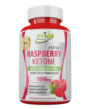Raspberry Ketone Super Strong Fat Burner - Lose Weight Fast - 60 Capsules