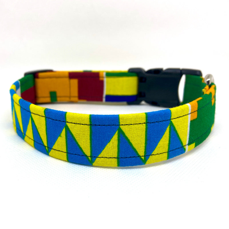 Dog Collar:  Kente III
