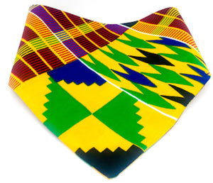 Dog Bandana:  Kente