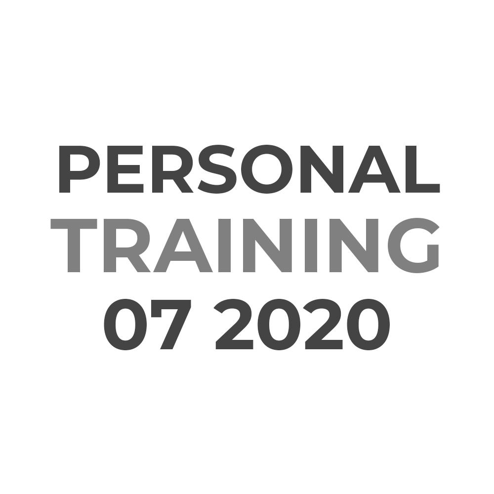 Personal Pastry Training | JULY