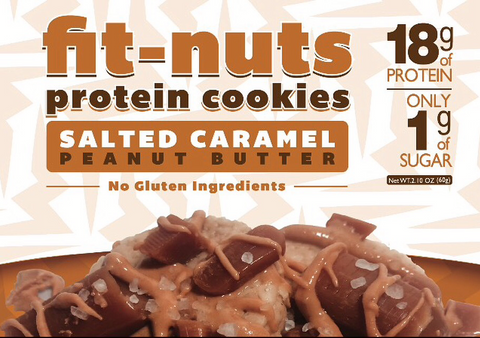 FIT-NUTS Protein Bites - Salted Caramel - 6 Pack (FREE SHIPPING)