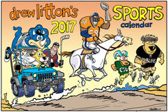 Drew Litton's 2017 Colorado Sports Calendar