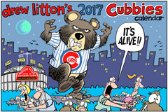 Drew Litton's 2017 Chicago Cubs Calendar