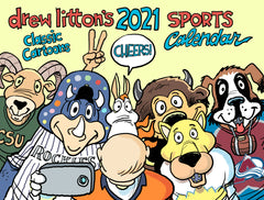 Drew Litton's 2021 12-month Sports Calendar