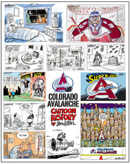 Colorado Avalanche 20th Anniversary 17x22  Print