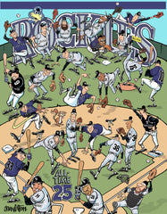 Rockies 25th Anniversary 24x32 Print