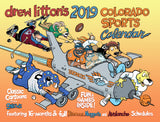 Drew Litton's 2019 16-month Denver Sports Calendar