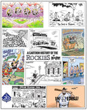 A Brief History of the Rockies 17x22 Print