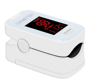 Portable Fingertip Pulse Oximeter - FDA approved - tested - measure oxygen in blood - Brooklyn Equipment