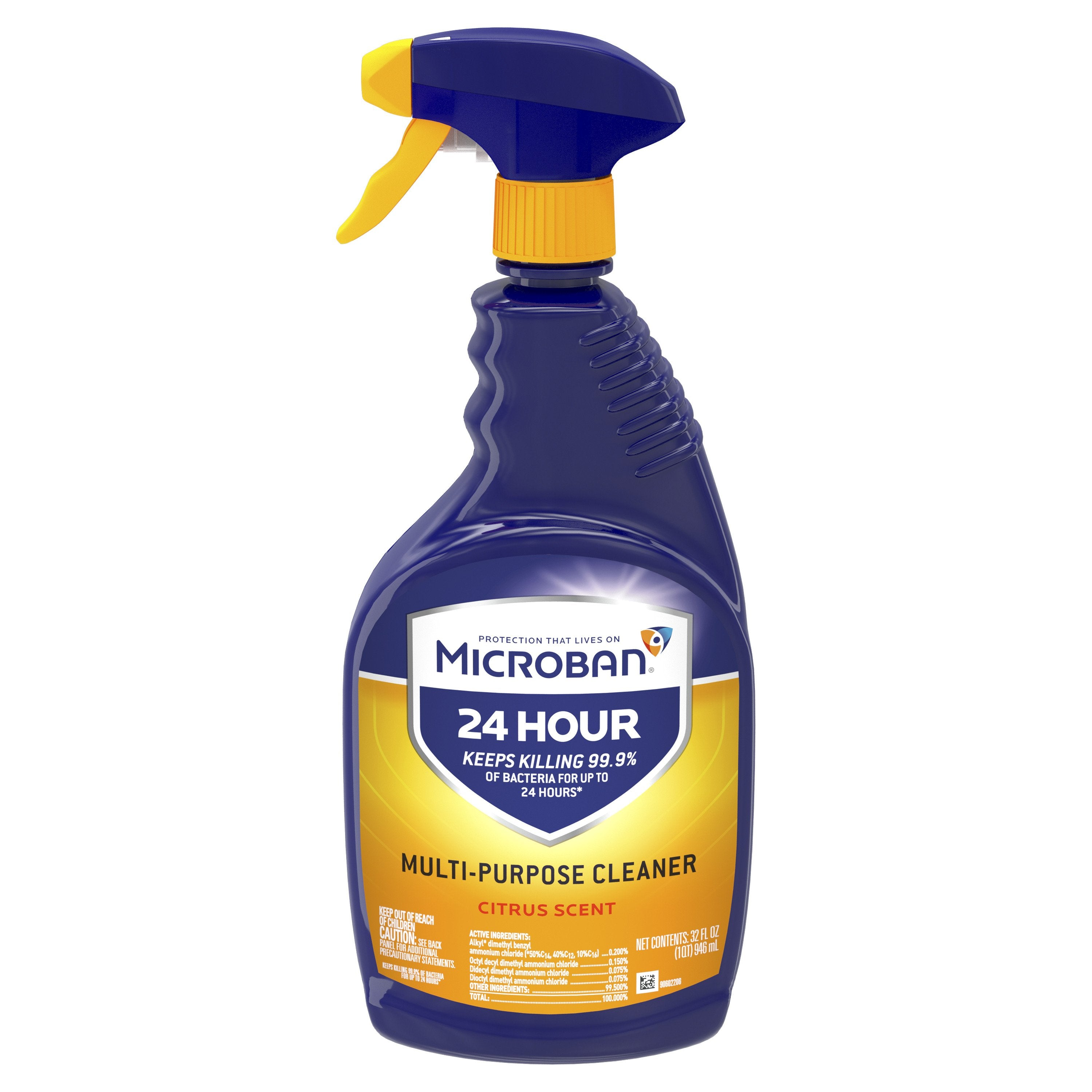 Microban Sanitizing Spray - kills 99.9% of germs, including cold and flu viruses - Brooklyn Equipment