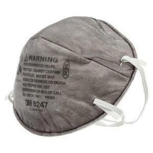Face Mask - 3M R95 Model 8247 NIOSH - 20 Masks