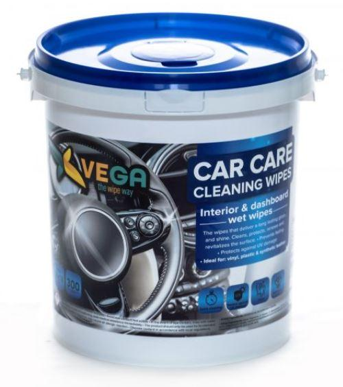 Specialized Wipes - Car Care Cleaning Wipes - Interior And Dashboard Wet Wipes - 1 Bucket Of 300 Wipes