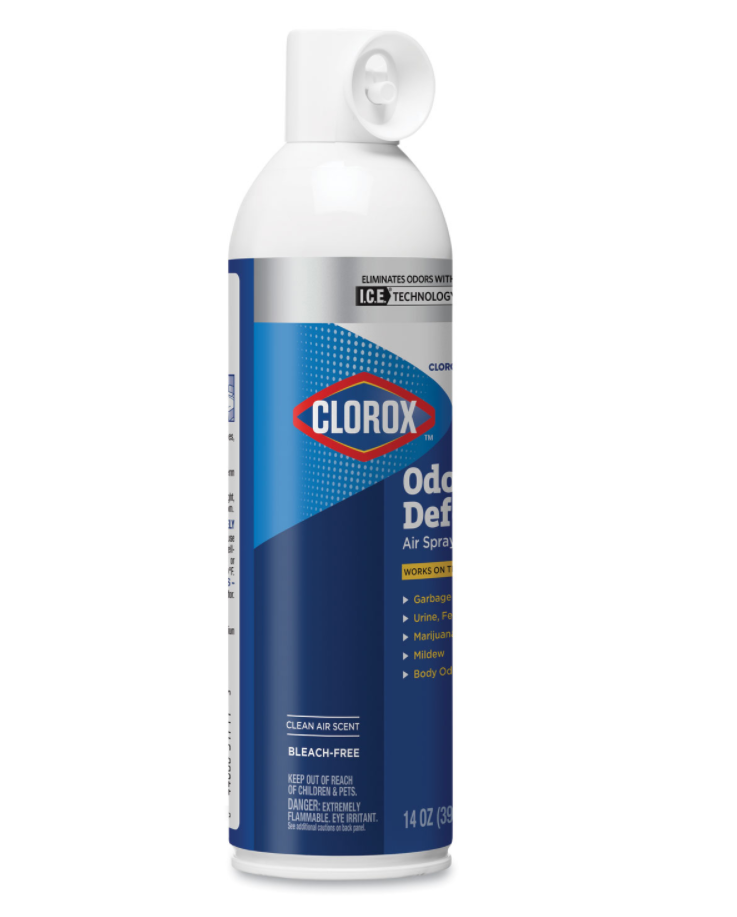 Laundry Products - Clorox® Commercial Solutions Odor Defense - Clean Air Scent - Aerosol - 14 Oz