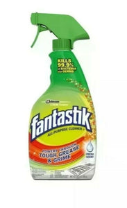 Fantastik All Purpose Cleaner Disinfectant Spray - Kills 99.9% of Viruses and Bacteria - pack of 1 - Brooklyn Equipment