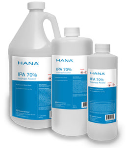 HANA - 1 Gallon LIQUID - 70% pure Isopropyl Alcohol - Made in USA -  no residue - fragrance-free - Brooklyn Equipment