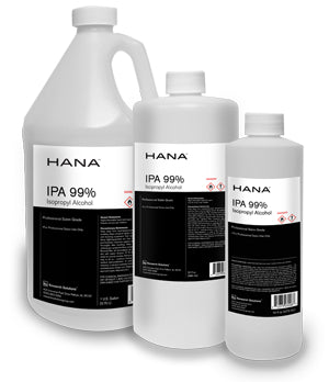 HANA - LIQUID 1 Gallon - 99% pure Isopropyl Alcohol - Made in USA -  no residue - fragrance-free - Brooklyn Equipment