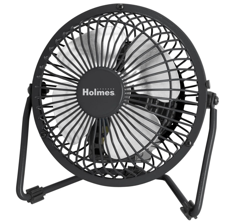 Air Cleaners, Fans, Heaters & Humidifiers - Holmes® Mini High Velocity Personal Fan - One-Speed - Black