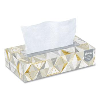 Towels, Tissues & Dispensers - Kleenex® White Facial Tissue - 2-Ply - 125 Sheets/Box - 12 Boxes/Carton