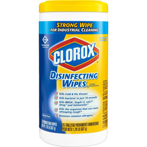 425 Clorox® Disinfecting Wipes - 3 Lemon 2 Fresh - 5 Canisters of 85 Wipes - FREE SHIPPING - Brooklyn Equipment