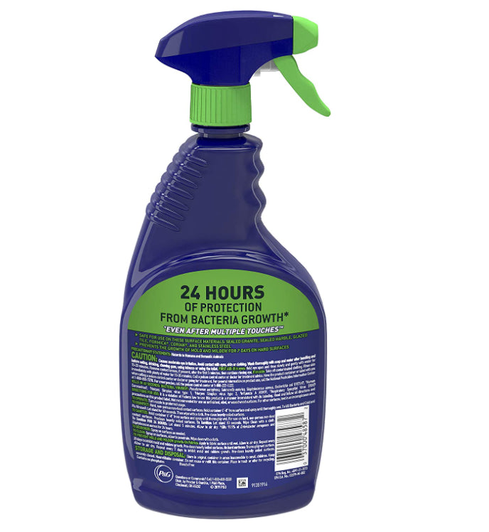 Disinfectant - Microban Sanitizing Spray - Fresh Scent, 32oz - Kills 99.9% Of Germs, Including Cold And Flu Viruses
