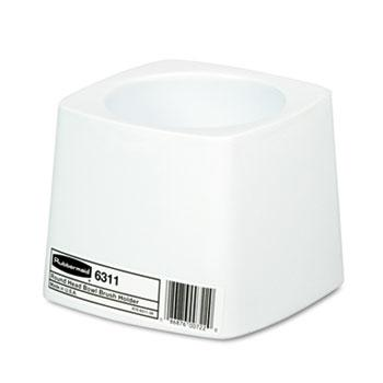 Restroom Cleaners & Accessories - Rubbermaid® Commercial Holder For Toilet Bowl Brush - White Plastic