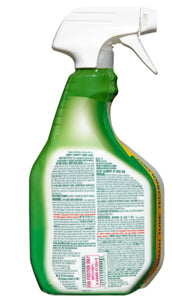 Clorox Clean-up® Green - Original Scent - Disinfectant with Bleach 32OZ Spray - Brooklyn Equipment