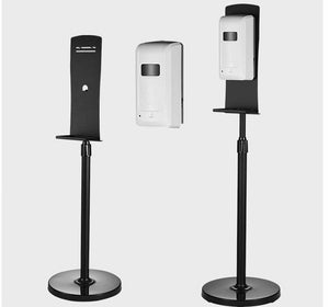 Dispenser Stand for hand sanitizer dispenser - Black Finish - pack of 10 - free shipping - Brooklyn Equipment