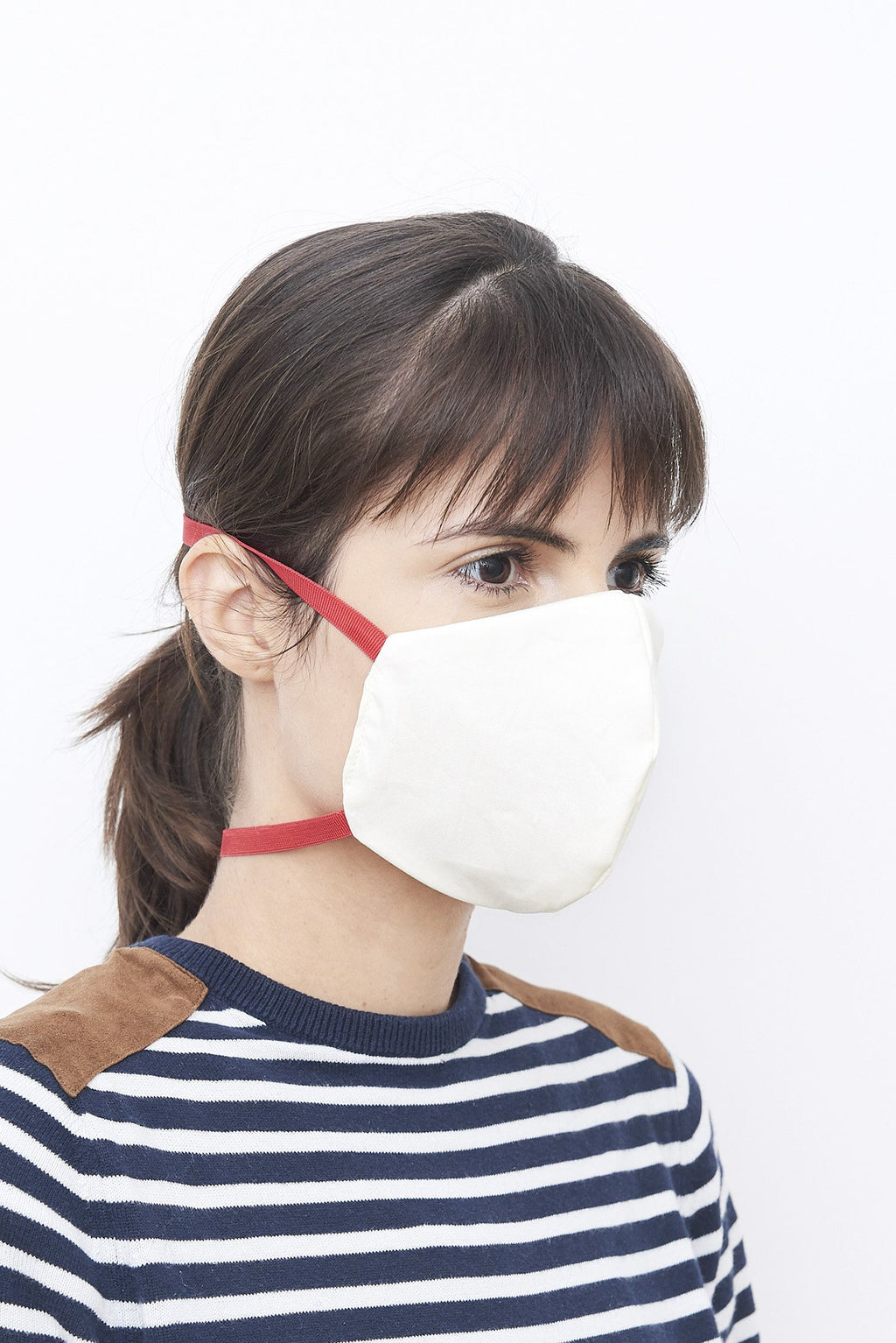 5-Layer Face Mask With Elastic Washable | 2 x Cotton | 3 x Non-Woven Fabric | - Brooklyn Equipment