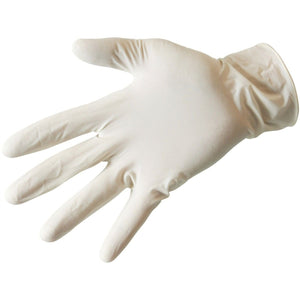 Gloves - Latex Gloves - Lightly-Powderede - Box Of 100 Gloves
