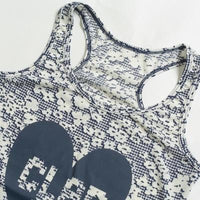 C-FLOWER Y-BACK TANK シーフラワーワイバックタンク - STYLE BIKE ONLINE SHOP