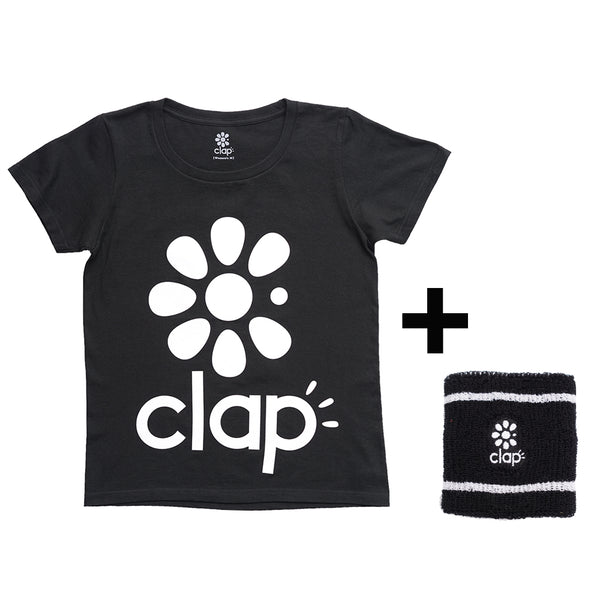 【LIMITED】 <br>BIG CLAP TEE + WRIST BAND <br>ビッグクラップティー + リストバンド