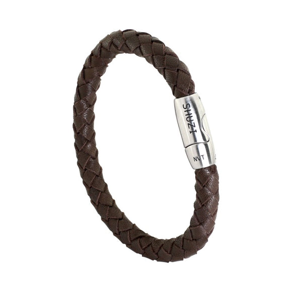 Italian Skinny Band - Dark Brown