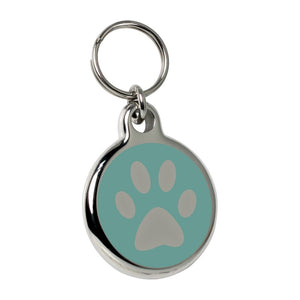 Paw Charm - Light Blue