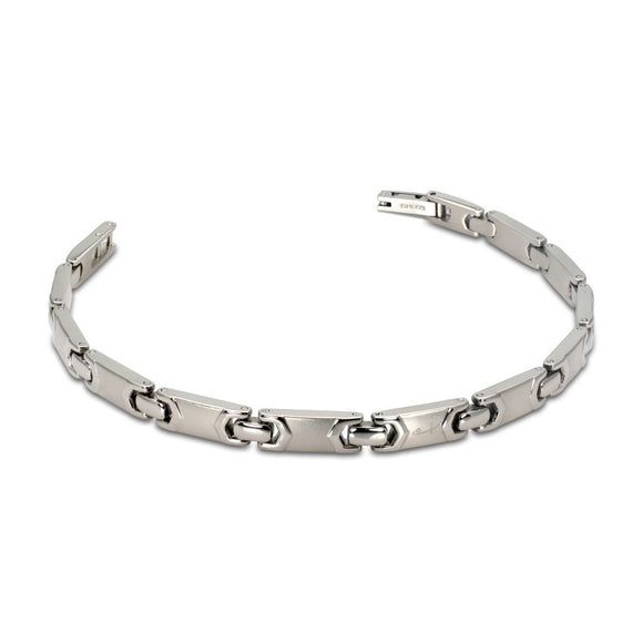 Polished & Brushed Link Bracelet