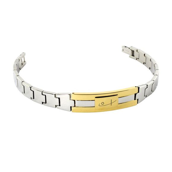 Two Tone Watch Bracelet
