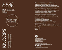 Load image into Gallery viewer, Dark chocolate flakes | 65% | Single Origin - Colombia
