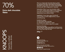 Load image into Gallery viewer, Extra dark chocolate flakes | 70%
