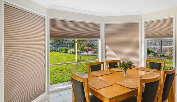 Honeycomb Blinds - Dining