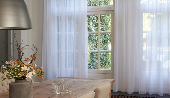 Sheer Curtains - Dining Room