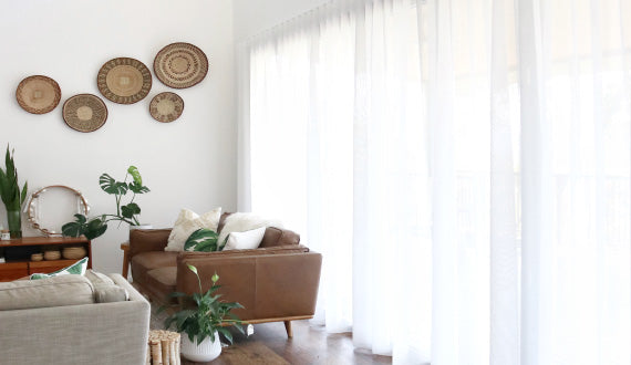 Sheer Curtains - Living Room