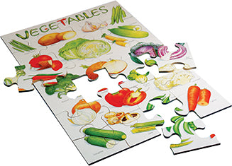 Vegetables and Salad Floor Puzzle