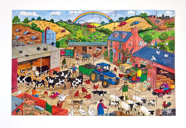 Farmyard Floor Puzzle