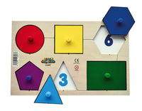 Shape Discovery Peg Puzzle